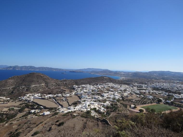 Plaka Point de vue Milos