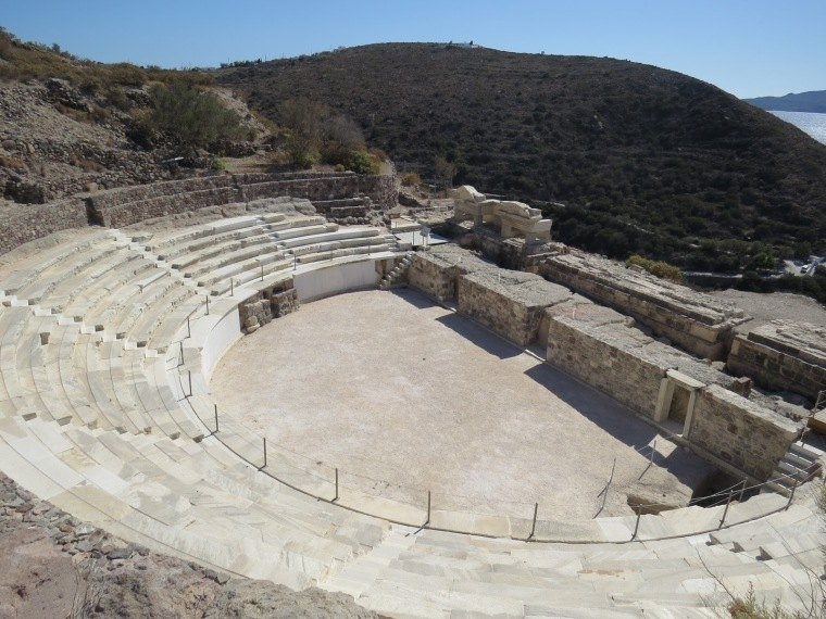 Site archéologique Tripiti Milos