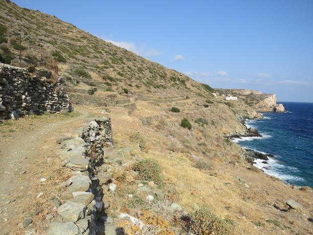 Randonnée facile Sifnos