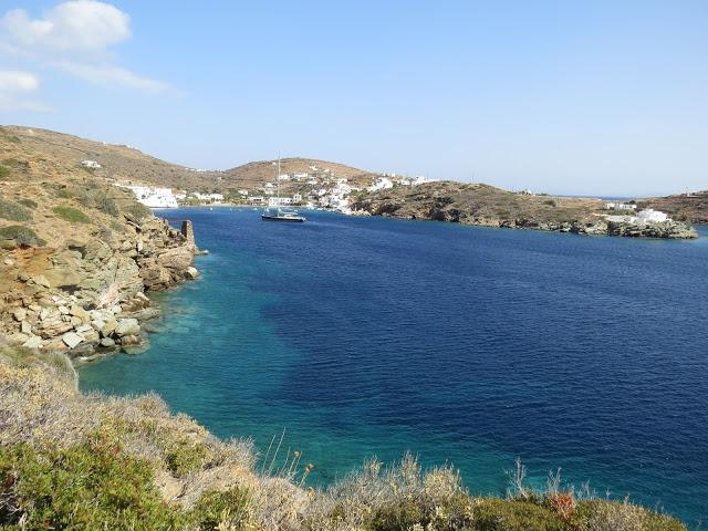 Randonnée facile Sifnos Cyclades