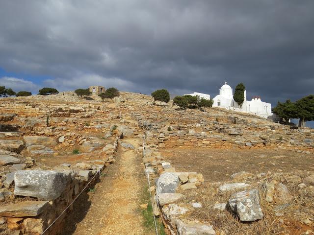 Agio Andrea site historique Sifnos