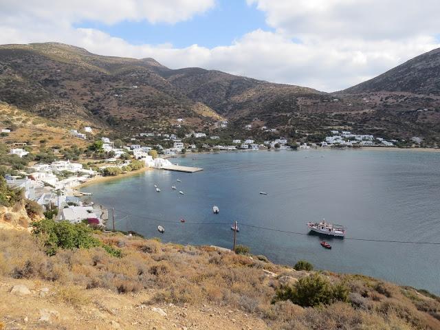 Baie de Vathy baigande Sifnos