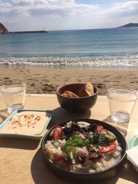 Restaurant plage Sifnos