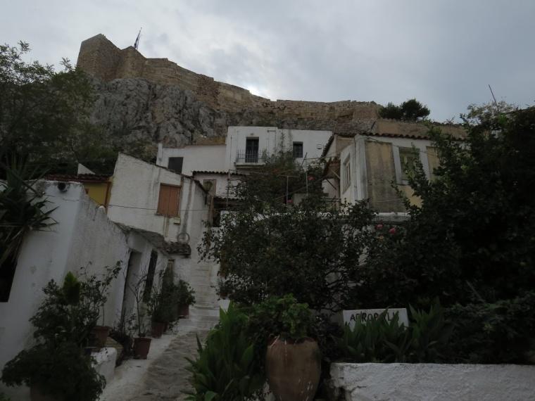 Quartier Anafiotika Athènes