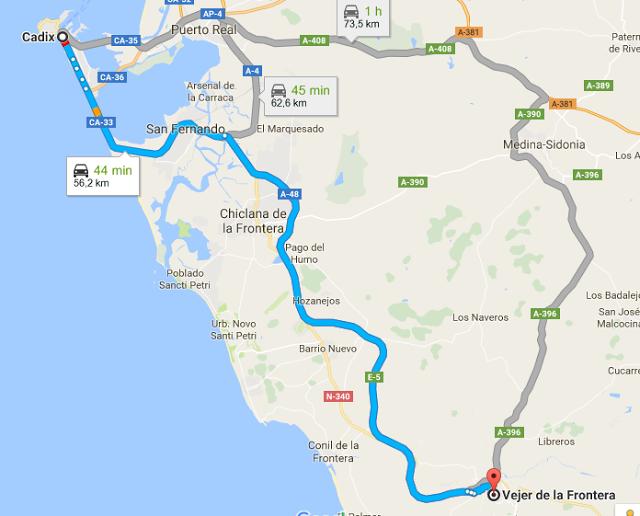 Vejer de la Frontera à Cadix Andalousie