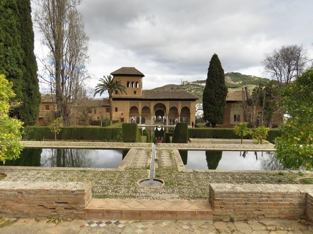 Alhambra de grenade Andalousie