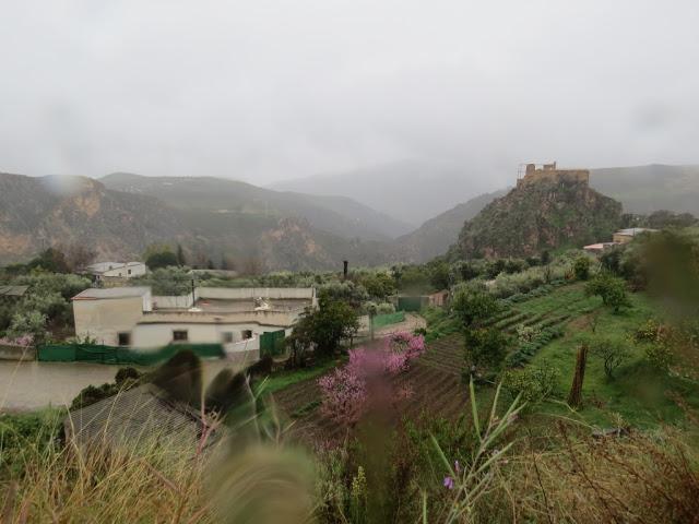 Village blanc Andalousie montagnes
