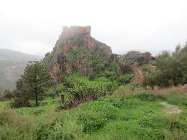 Lanjaron porte des Alpujarras Castillo arabe