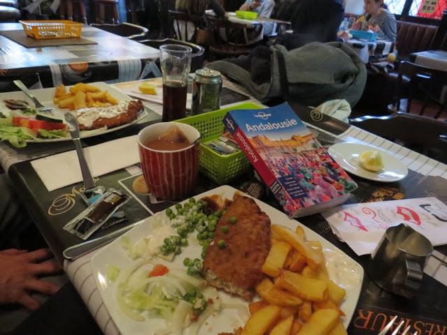 Manger à Gilbraltar pub anglais