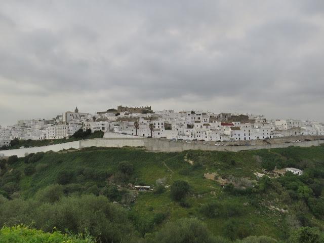Vejer de la Frontera village blanc Andalousie