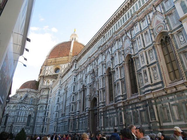 Trio architectural de la place du Duomo