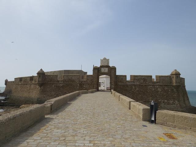 Castillo de San Sebastian Cadix