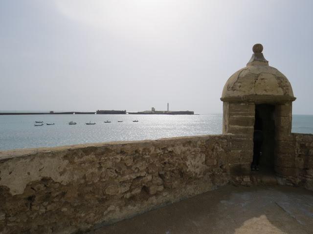 Castillo de Santa Catalina vue sur Atlantique