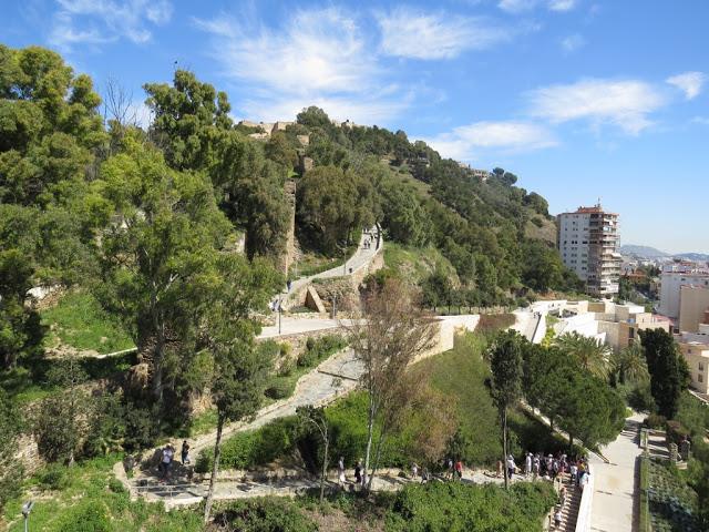 L'Alcazaba Malaga