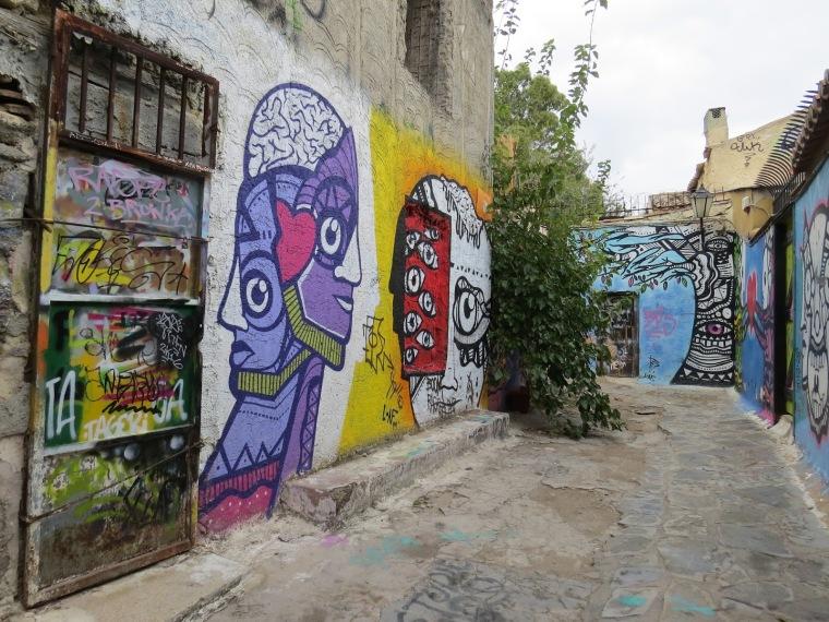 Street art Plaka Athènes