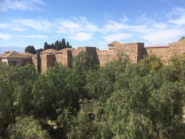 Vue depuis le Castillo de Gibralfaro