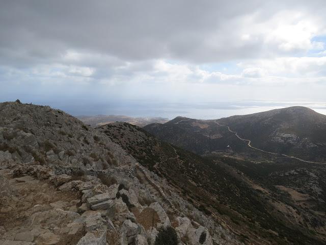 Vue Sifnos depuis Profiti Elias