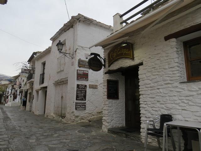 Villages blancs alpujarras Andalousie Espagne