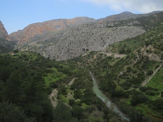 province de Malaga Caminito del rey