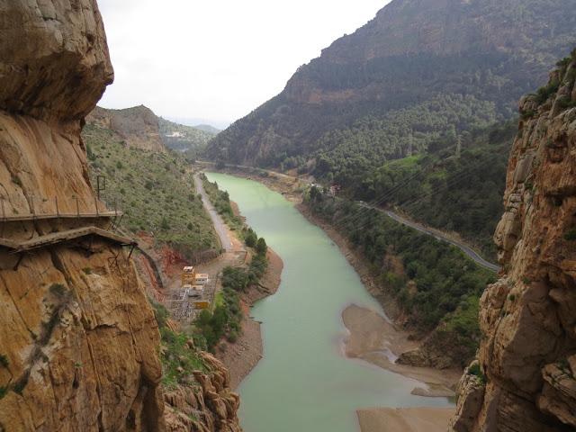 Passerelle Caminito del rey Andalousie