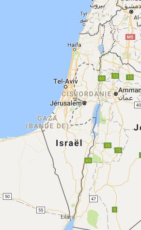 road trip Israel