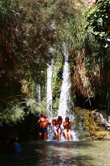 Cascades Ein Gedi Israel