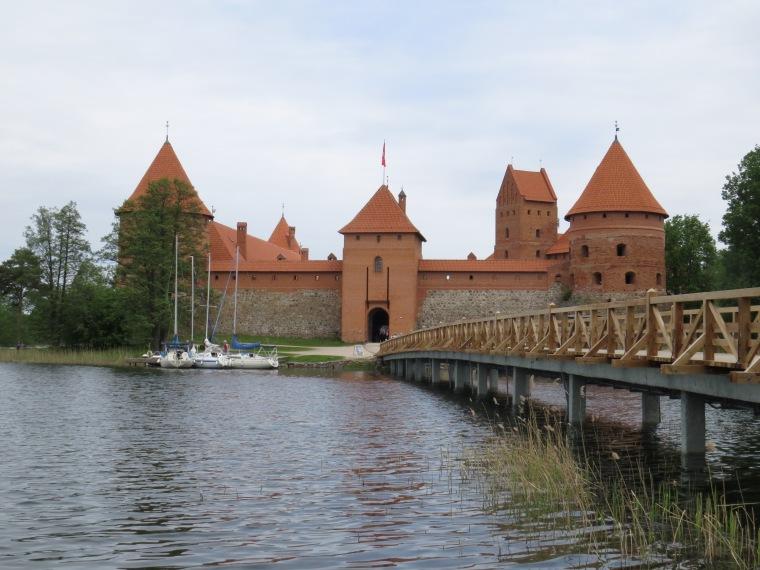Château de Trakaï 27km Vilnius