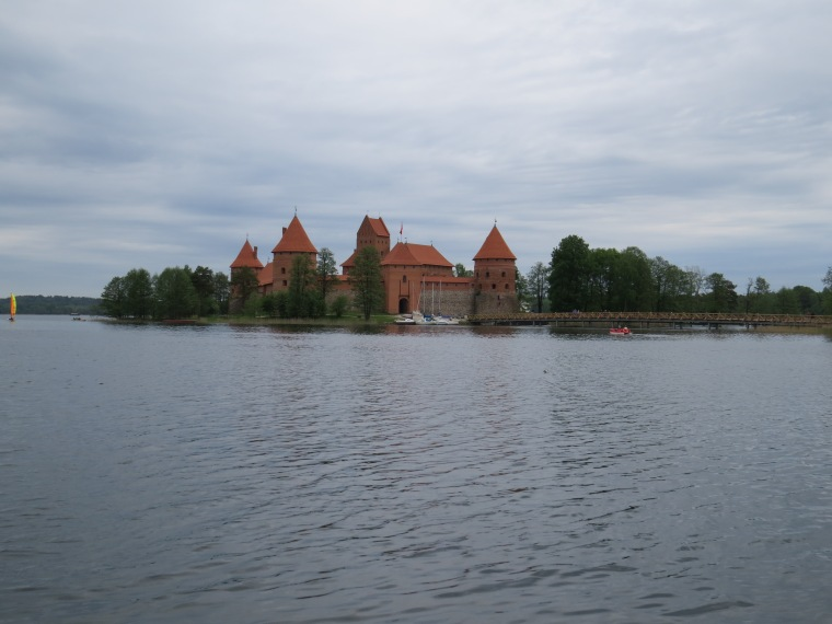 Château de Trakaï 27km Vilnius Lituanie