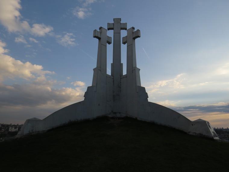 Colline des 3 croix point de vue Vilnius