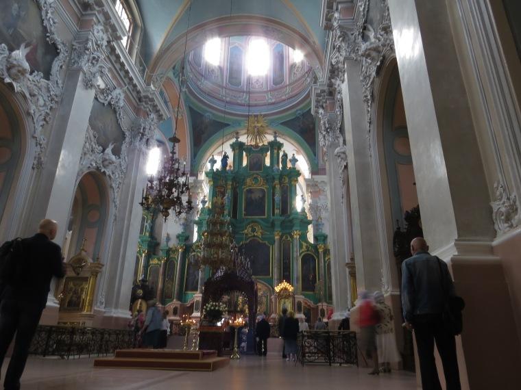 Intérieur Eglise Orthodoxe Vilinus