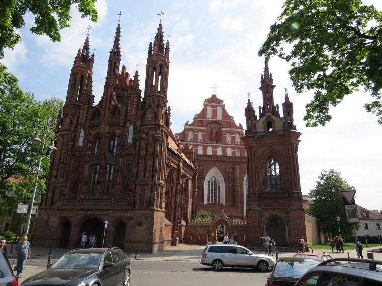 Eglise Saint Anne Vilnius