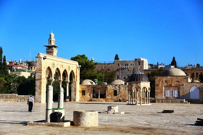 Mosquée Al Aqsa Jérusalem ville sainte