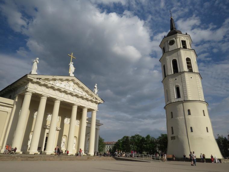 Cathédrale de Vilnius Lituanie