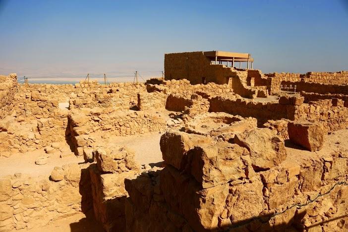 Fort de Massada Désert Israel