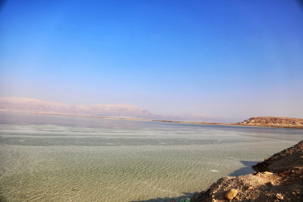 paysage mer morte Israel