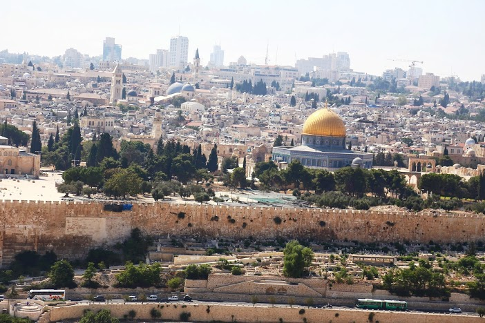 Mont des Oliviers Jérusalem Israel