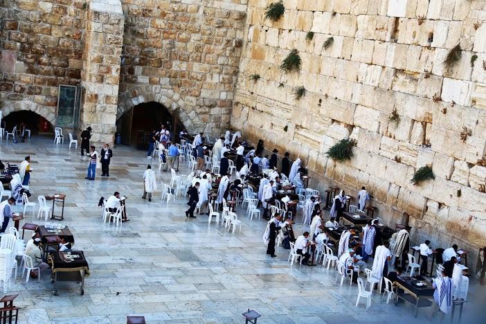 Mur des lamentations Jérusalem Israel