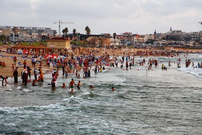 Plage Tel Aviv côté Yafo