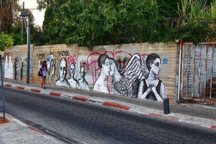 street art Tel Aviv Jérusalem