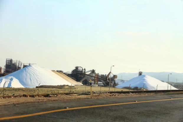 usine de sel mer morte Israel