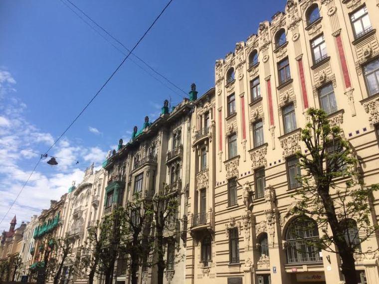 Riga Art déco Arlbert Iela
