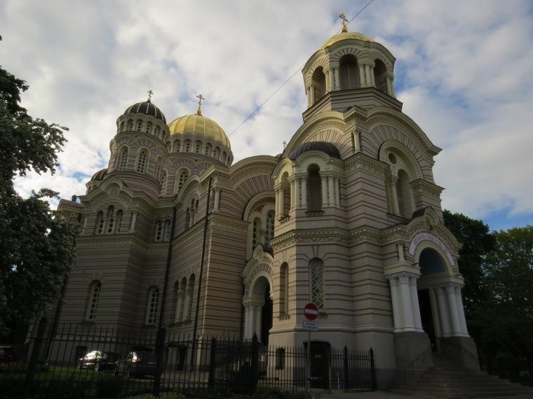 Cathédrale orthodoxe Riga