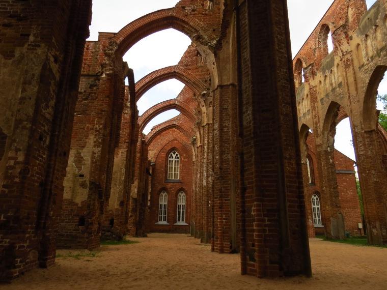 ruines cathédrale gotique Tartu