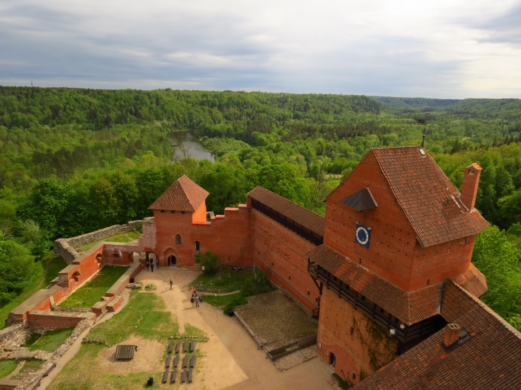 Château de Tureida Point de Vue