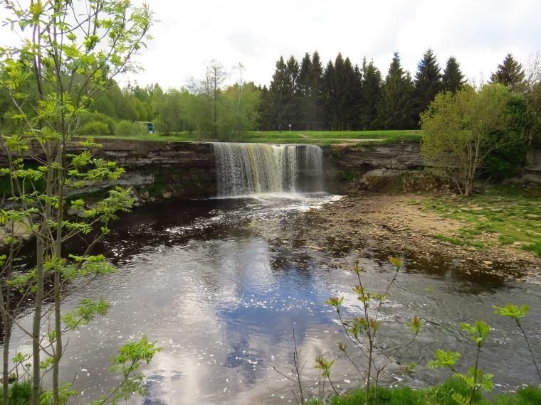 Cascde chutes de Jägala Talinn Estonie