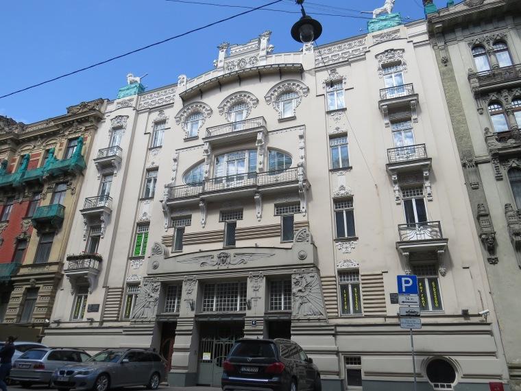 Art nouveau Riga Albert Iela