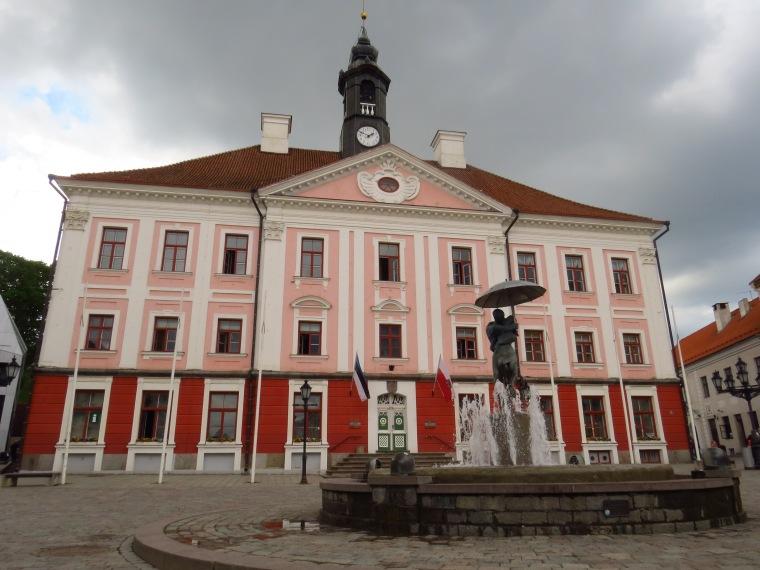 Hôtel de ville Tartu Estonie