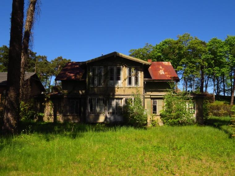 Jūrmala maisons en bois