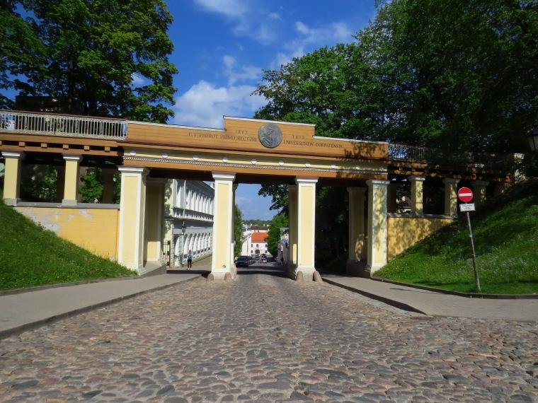 Toomemagi (la colline de la cathédrale) Tartu