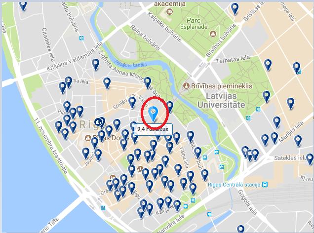 Hébergement à Riga